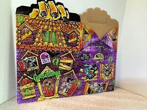Taco Bell Goosebumps children's meal box 1996