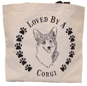 Corgi Tote Bags New  MADE IN USA Lot of 10