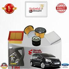 Mantenimiento Filtros + Aceite Ford S-MAX 1.8 TDCI 92KW 125CV De 2006- >