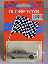 GLOBE TOYS (MAJORETTE) #112 CITROEN CX SILVER W/ RED INTERIOR MADE IN FRANCE MOC