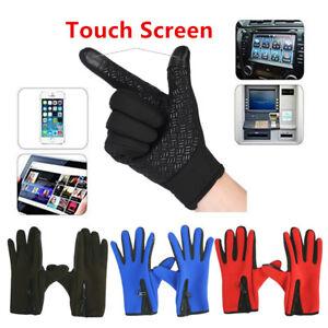 Lot Winter Unisex Touch Screen Windproof Waterproof Outdoor Sport Driving Gloves