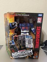 Transformers War for Cybertron Kingdom Leader Ultra Magnus | IN HAND