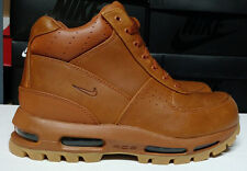 Nike Air Max Goadome Size 10 Tawny Light Brown Gum Mens Boots Shoes 865031-208