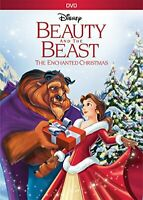 Beauty and the Beast 2: The Enchanted Christmas DVD NEW
