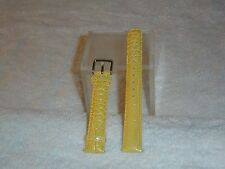 NWOT Invicta Leather Watch Band (Yellow)