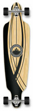 Yocaher Drop Through Crest Onyx Longboard Complete