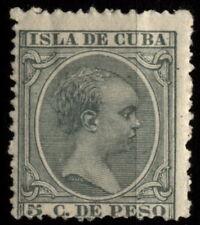 [Z5] 1Cuba 1891 Mi 79 King Alfonso XIII MH