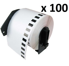 100 x Compatible Brother DK-11201 Standard Address Labels 29 x 90mm For QL-500A