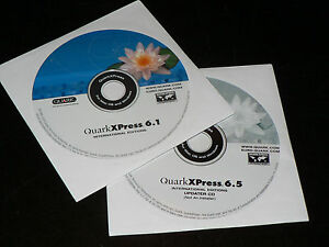 QuarkXpress 6.1 MAC Vollversion deutsch upgradefähig auf QuarkXPress 2018
