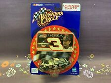 Winners Circle #3 Dale Earnhardt Goodwrench License Plate Collection 1/64 NASCAR