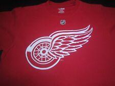 Detroit Red Wings #93 JOHAN FRANZEN NHL Hockey T-Shirt Reebok Size Small  V5
