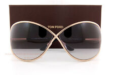 Brand New Tom Ford Sunglasses TF 0130 130 Miranda 28B Gold/Gray For Women
