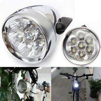 Bicycle Headlight Bike Front Light 3 LED Vintage Retro Classic Lamp Night Riding