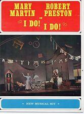 mary martin robert preston in i do i do   Souvenir Program Many Great Photos