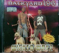 Wicked Wayz [PA] by Backyard 196 (CD, 1998, Ballin' 4 G's) Skaface - Al Kapone
