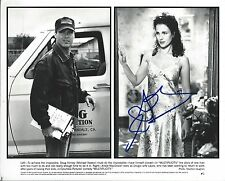 Andie MacDowell signed Michael Keaton' Multiplicity 8x10 photo - Groundhog Day