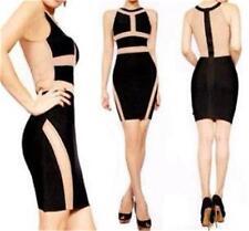 Best quality rayon mesh bandage dress