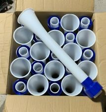 Case of 25 Oem GrowerSelect Adjustable Drop Tube Assembly 3� Pipe, Blue Collar