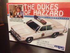 MPC 1:25 Dukes Of Hazzard Sheriff Rosco's Rosco Police Car Model Kit Skill 2