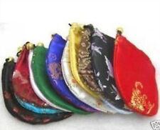 WHOLESALE 10pcs China Silk Jewelry Pouches