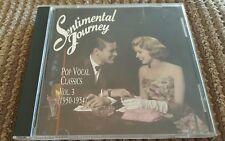 Sentimental Journey-Pop Vocal Classics Vol. 3  (1950-1954). Excellent condition!
