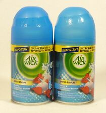 2 Air Wick FreshMatic Spray Refills WINTER & CANDLELIGHT WARMTH Airwick Refill