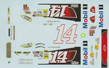 #14 Tony Stewart Office Depot 2012 Chevy 1/64th Ho Scale Slot Car Decals