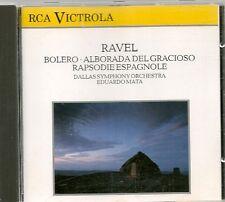 CD ALBUM CLASSIQUE--RAVEL--BOLERO / ALBORADA DEL GRACIOSO / RAPSODIE ESPAGNOLE