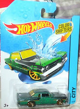 Hot Wheels BHR58 Power Rage Color Shifters 2014 City Series 1:64 Diecast Car
