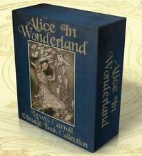ALICE in WONDERLAND 22 Vintage books PDF on CD-Rom + Hi Res Images Lewis Carroll