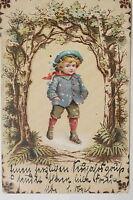 16007 Ak Neujahrsgruß Joven Bosque Silvester Año Nuevo 1913PC Happy New Year