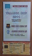 Tournament Tallinn-2011. West Ham United - Dynamo Moscow U-19 + tickets