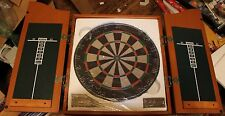 NEW Marlboro Catalog Dartboard in Cabinet 2005 with Steel Tip Darts