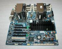 HP 460838-003 591182-001 System Board w/ 2pcs Intel Xeon 2.40GHz CPU