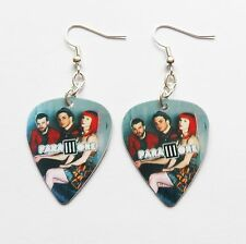 PARAMORE guitar pick plectrum silver plated EARRINGS