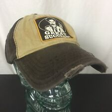 Destroyed Borat Great Success Hat Brown Cap Frayed Discolored Stained Fox 2007
