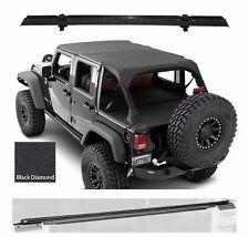Smittybilt Extended Top, Tonneau Cover, & Hardware 10-17 4dr Jeep Wrangler JK