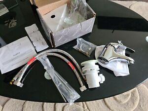 Vado Matrix Basin Mono Mixer with pop up waste.