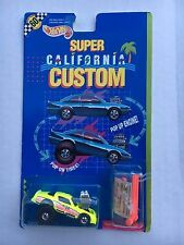 1990 Hot Wheels Pontiac Firebird  Super California  Tubular Turbo Neon Yellow