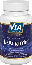L-Arginin 500 mg 60 Kapseln  Made in Germany, 37,96€/100g