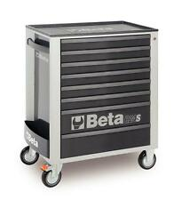 Beta Tools C24S8/G Mobile Roller Cabinet Tool Box 8 Drawer Roll Cab Grey Rollcab