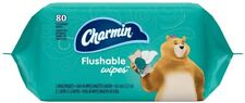 Charmin Flushable Wipes Refill, Twin Pack, 80 ea (Pack of 2)