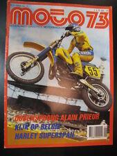 Moto 73 #1 6 januari 1984 (NL) poster Suzuki RM500 George Jobé en Harry Everts