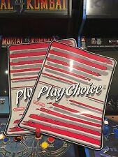 PlayChoice 10 Arcade Side Art Artwork Overlay Decal Sticker CPO Nintendo