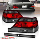 1995-1999 For Mercedes-Benz W140 S-Class Red Smoke Tail Lights Pair