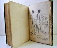Auguste Debay.  Histoire naturelle de l'homme et de la femme 11 Planches 1875.