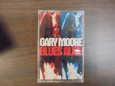 "NEW SEALED ""Gary Moore"" Blues Alive Cassette Tape  (G)"