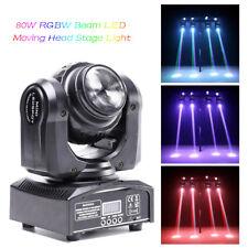 80W Double Sides Stage Light RGBW LED Spot Moving Head DMX Disco DJ Party Light