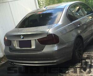 09 - 11 BMW 3 series (sedan) smoked tinted tail light covers vinyl 328 335 M3