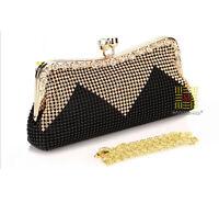 Womens Evening Bag Fashion Clutch Handbag Cocktail Party Prom Shoulder Bag Purse